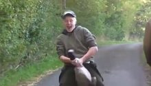 Sickening video shows Atherstone Hunt steward simulating sex with dead goose