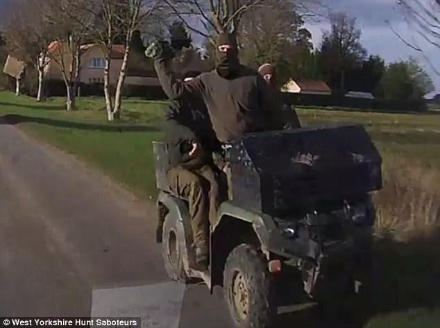 Badsworth & Bramham Moor Hunt Balaclava Clad Terriermen