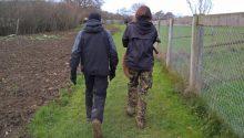Belvoir Hunt: Hunt saboteurs removed one of the dead foxes