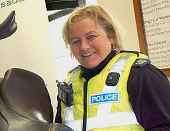 Pc Sharon Roscoe is a wildlife officer for Leicestershire Police and also a keen member of the Belvoir hunt