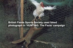 Hunters Use Faked Photos In Anti-Fox Campaign