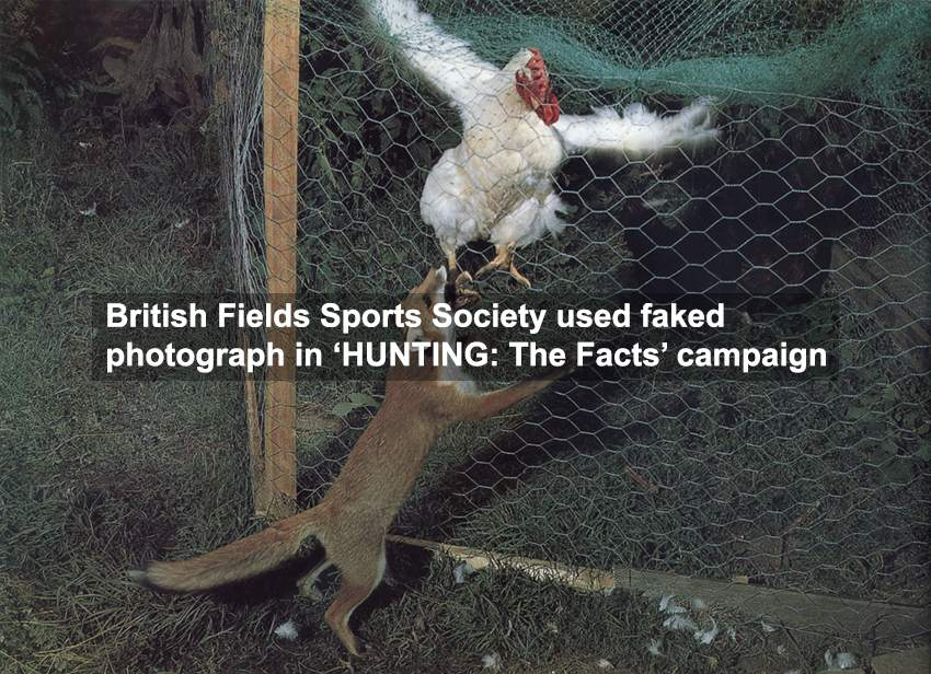 British Field Sports Society Hunting the Facts photo