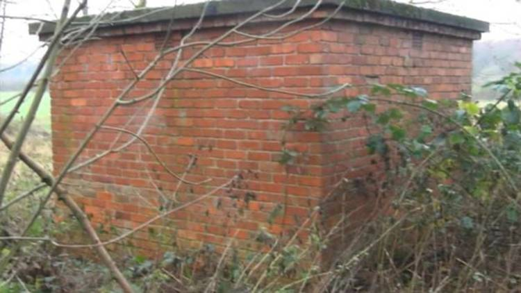 The fox was being kept in an outbuilding on the Buckminster Estate