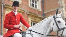 Middleton Hunt: Charles Carter made the lewd outburst to a fox hunting protester