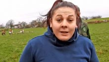 PC Claire Ford (pictured) was alongside the Cheshire Forest Hunt when it clashed with activists who disrupted the hunt