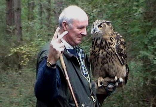 Crawley and Horsham Hunt's eagle owl