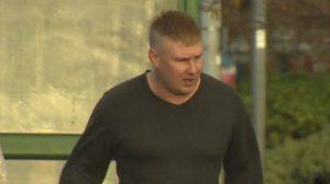 Badger Baiting Farm worker Damien Sweeney