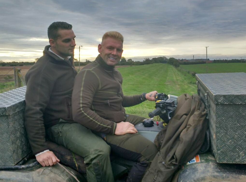 Darren Fisher Badsworth and Bramham Moor Hunt terrierman.