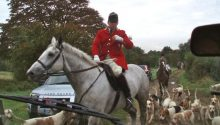 Protestors hit out at CPS for dropping fox-hunting charges