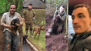 Four men convicted of badger baiting