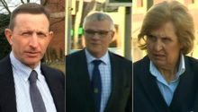 Paul Larby, Peter White and Jane Wright guilty of hunting a mammal with dogs