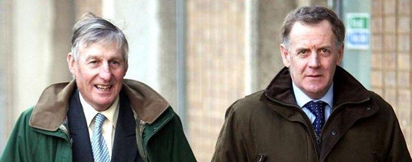 Heythrop Hunt: Richard Sumner  and Julian Barnsfield