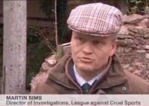 Martin Sims is director of investigations at the League Against Cruel Sports