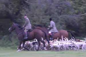 Six members of the Meynell and South Staffordshire Hunt charged