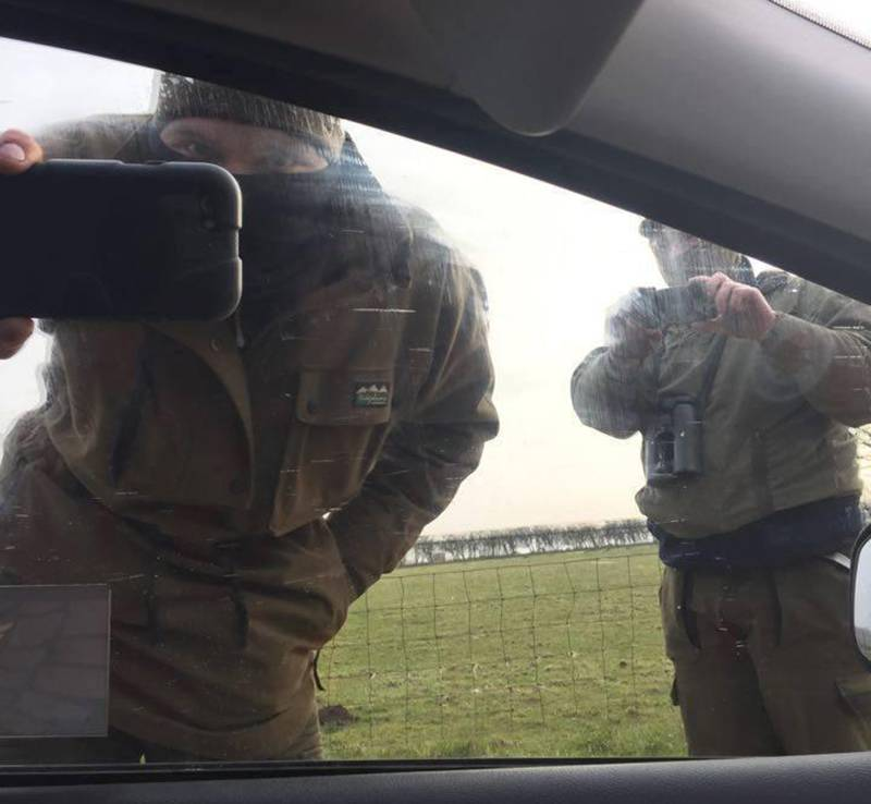 Middleton Hunt masked terriermen