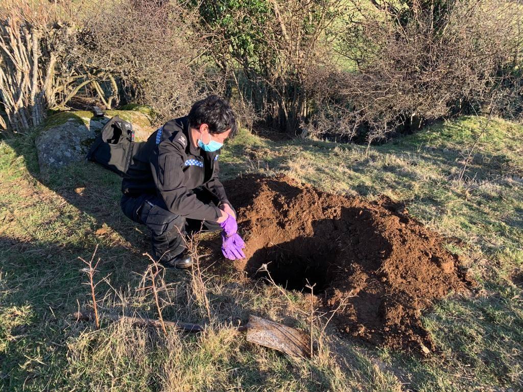 Police uncover horrific badger crime