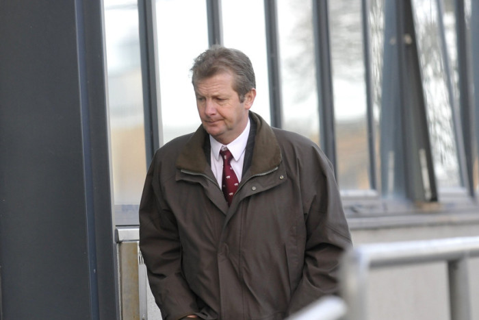 Sean McClarron at court